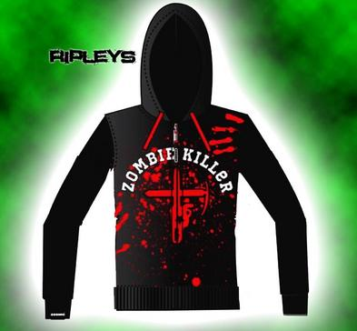 New Breed COSMIC Unisex HOODY Hoodie ZOMBIE KILLER Melle All sizes